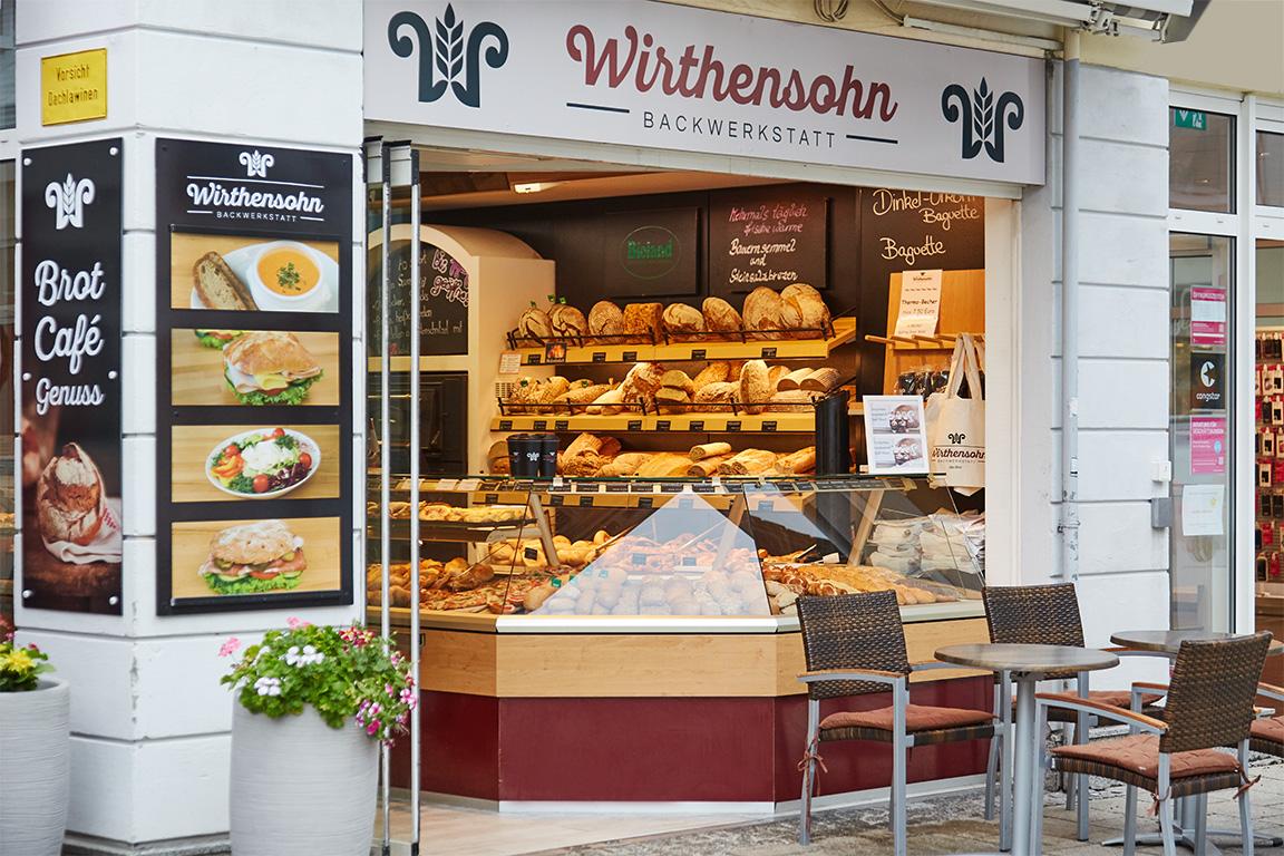 Wirthensohn Bäckerei in Sonthofen's Schmiedegässle