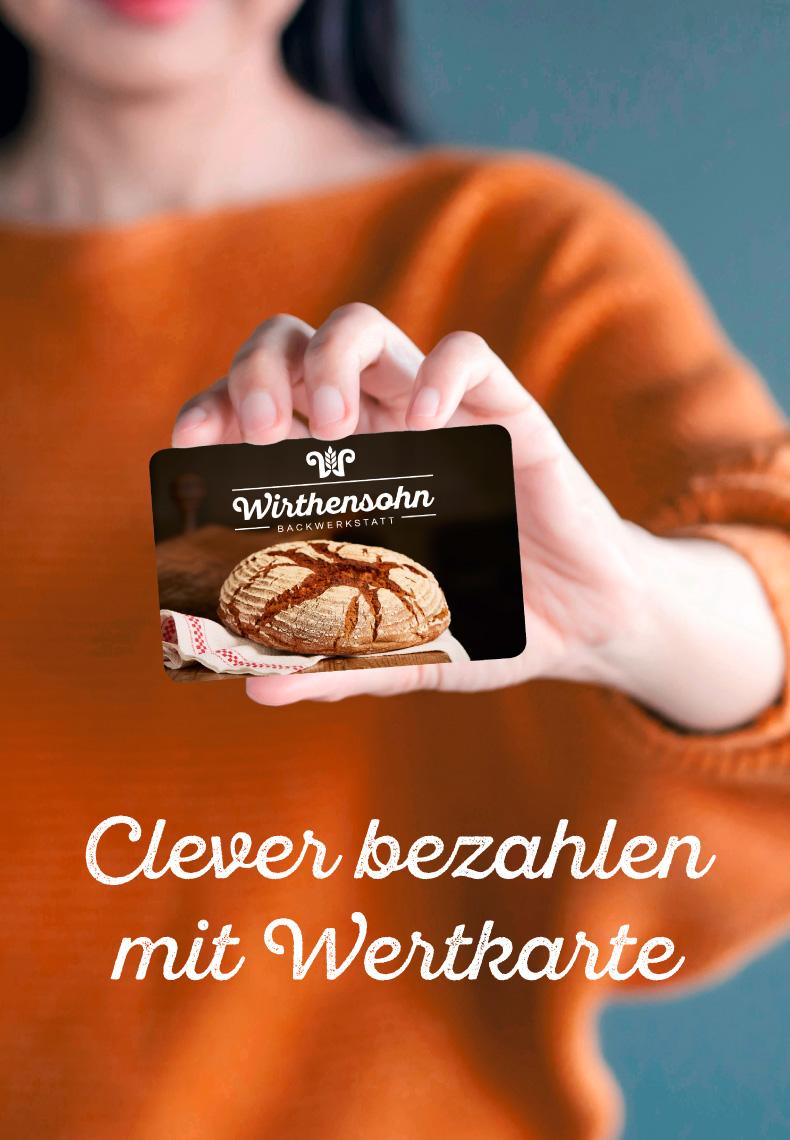 Wirthensohn Bäckerei und Konditorei Wertkarte