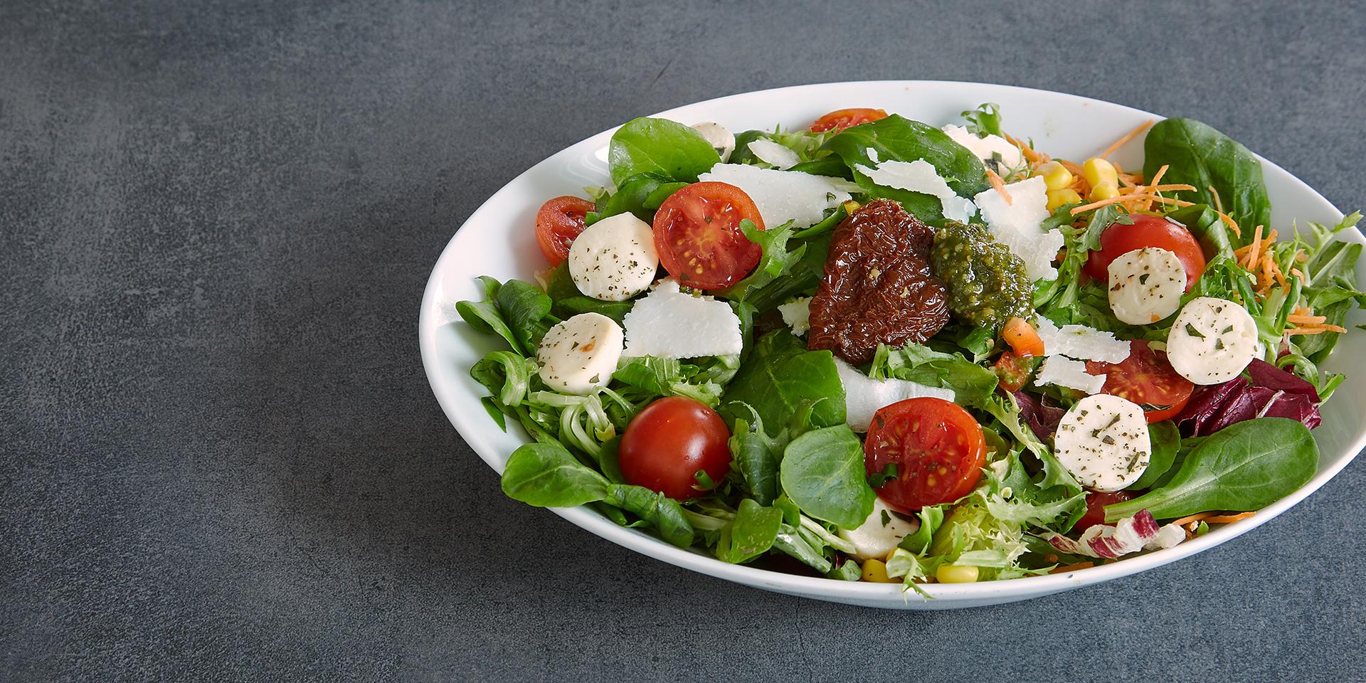Bäckerei Wirthensohn Sonthofen Mittagstisch Salat