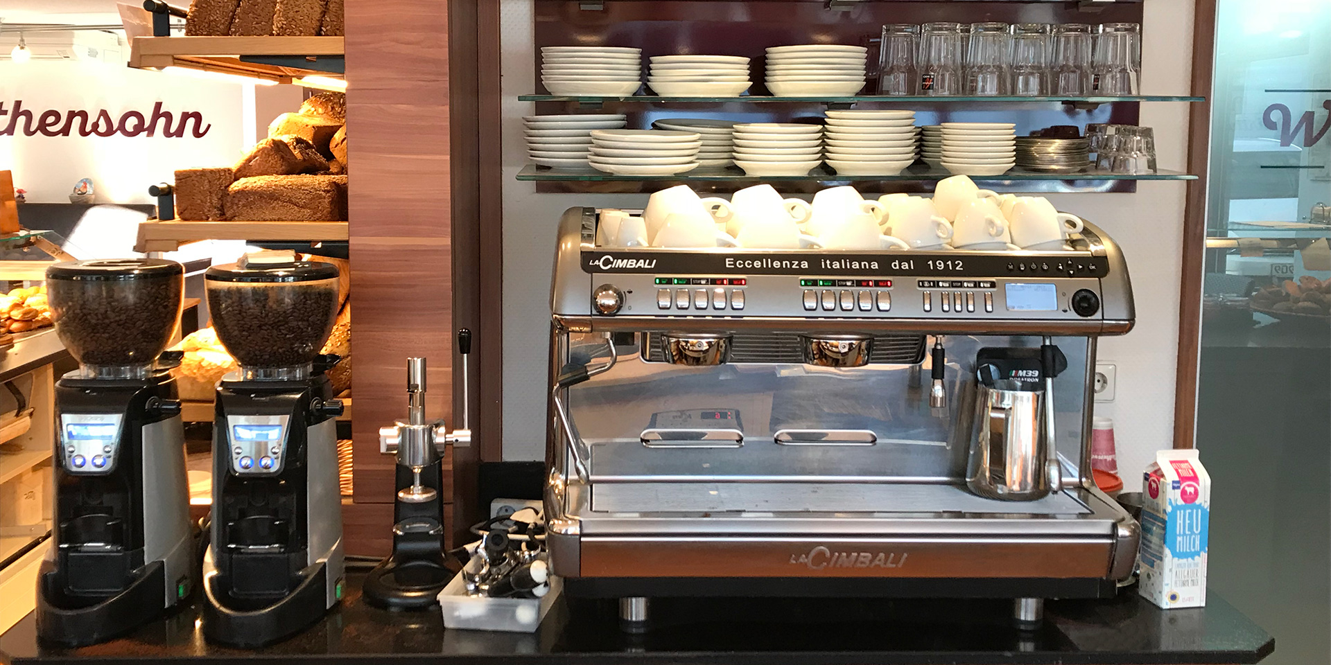 Wirthensohn Backwerkstatt Espressomaschine